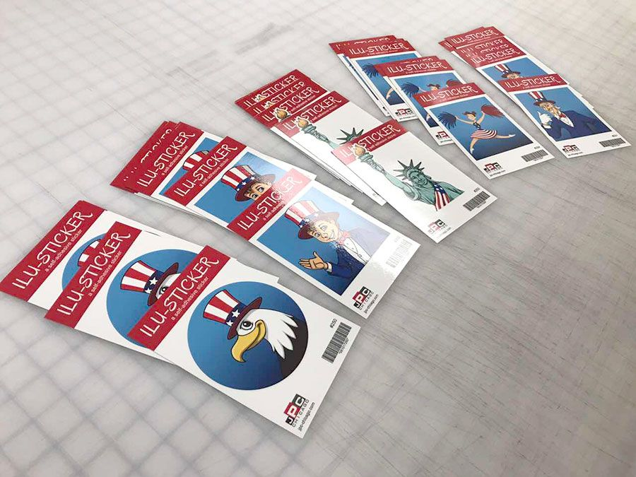 make custom stickers promote your business j print center chicago