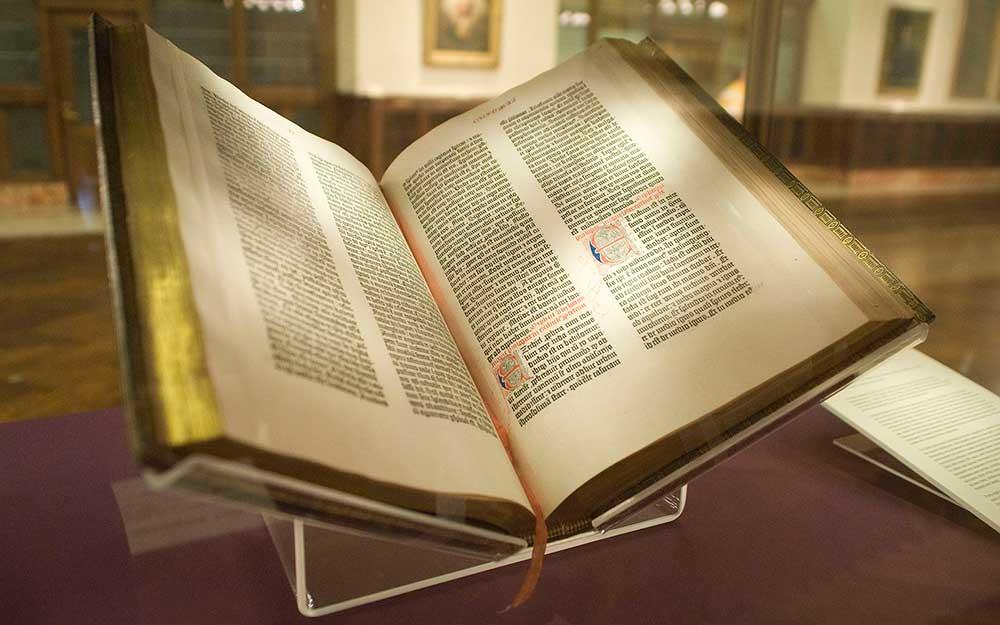 gutenberf bible