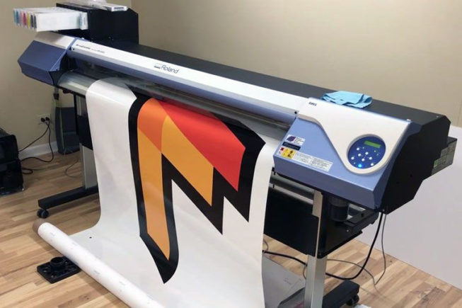 digital printing machine large format