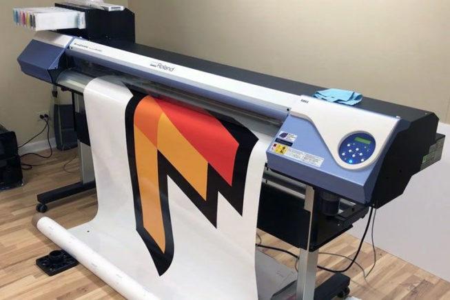 digital printing machine large format