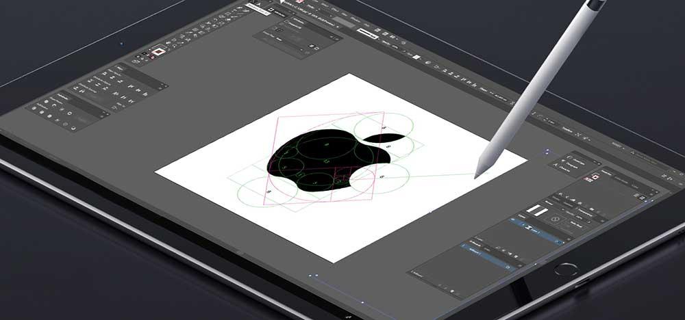 logo design proces computer