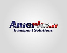 american transport logo design