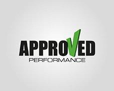 approved performance logo design