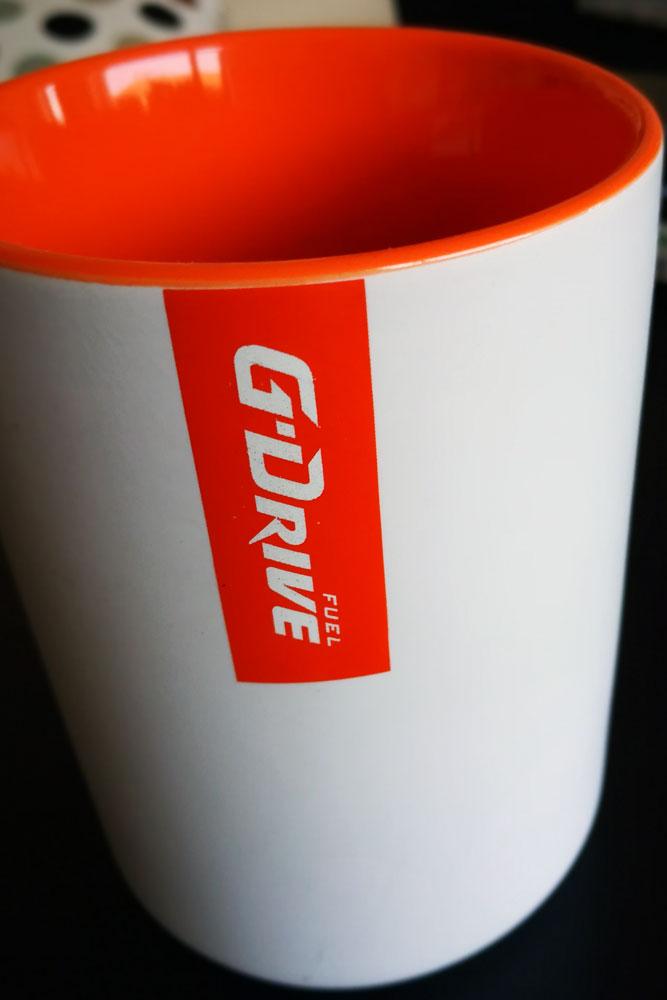 pad printed cup