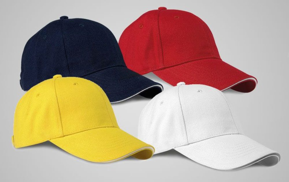 PRINTED AND EMBROIDERED CAPS Personalized With Your Logo c21dc182749