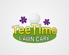 tee time logo design