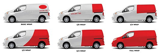 van wrapping prices