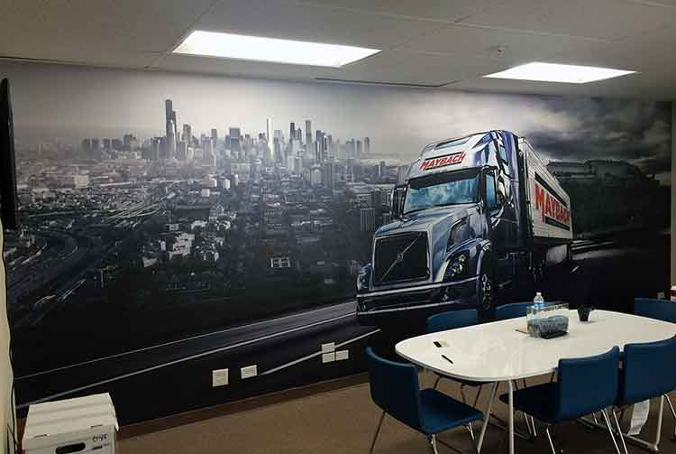 wall wraps truck chicago