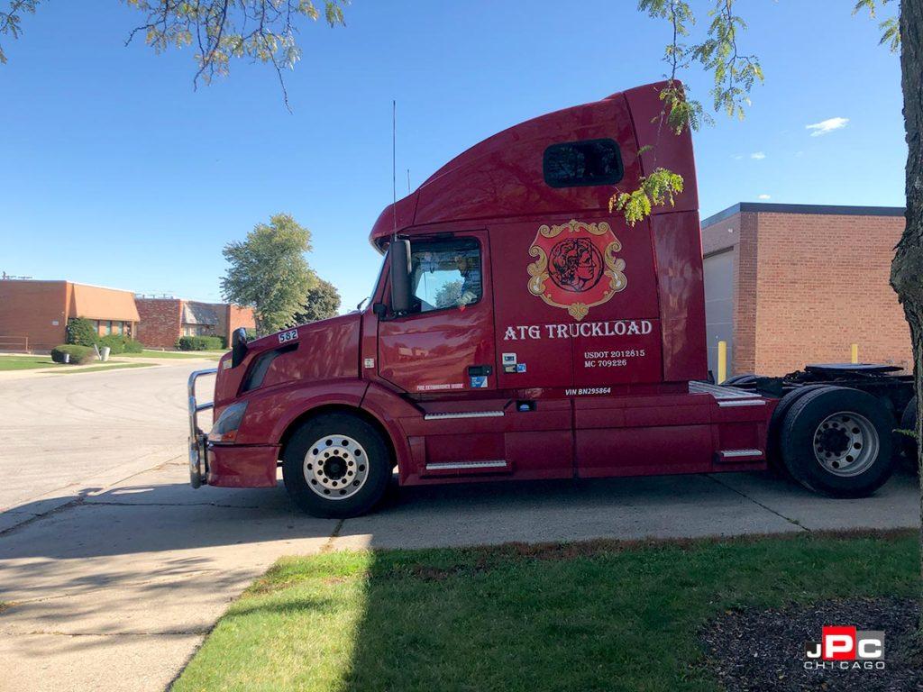 ATG Truck Decals