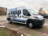 CMP Anodizing Van Wrap