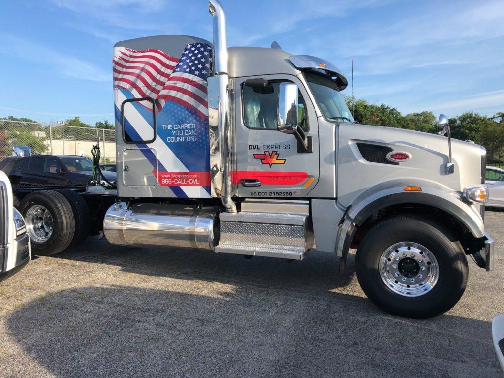 DVL Express truck USA