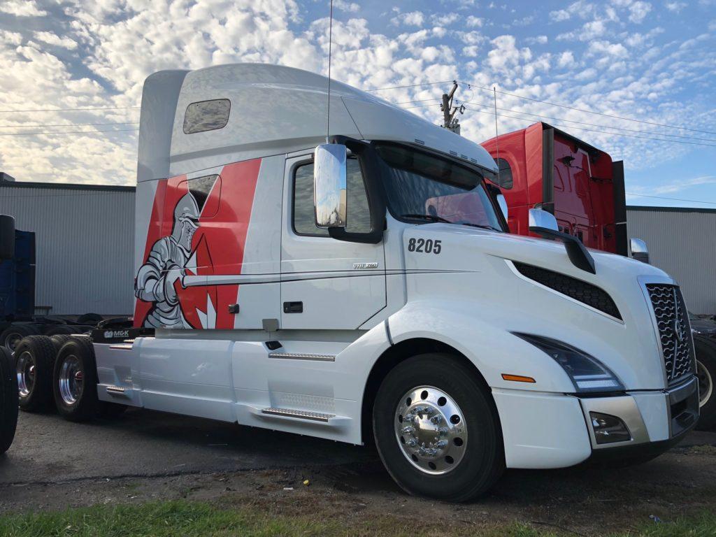 Maybach truck branding